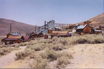 the Bodie Mill