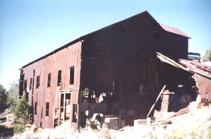 most of the equipment had been removed long before the mill was destroyed