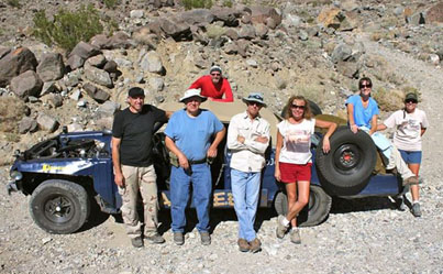 everyone met at the Reward Mine for production work and the start of the 2013 ghost town trip