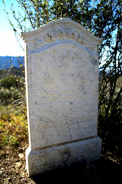 a friend buried Mary.  What happened to her family?