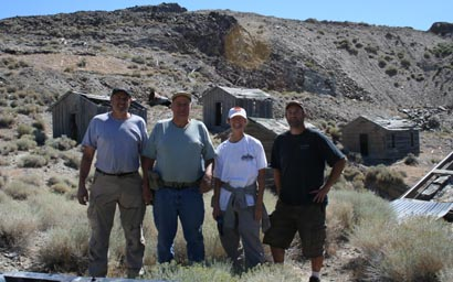 the 2008 ghost town hunters