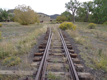this was a narrow guage railroad