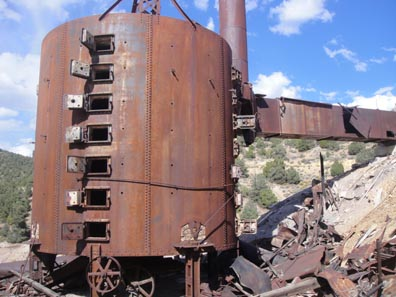 used for melting ore